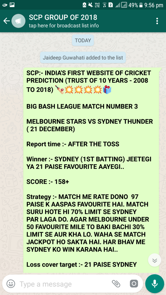 SCP CRICKET TIPS | A New Home Of Solid Cricket Predictions